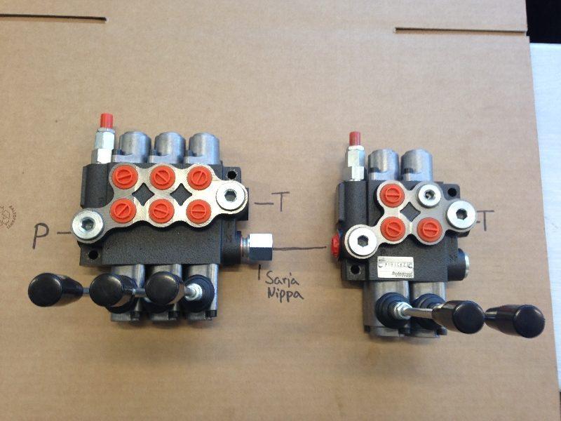 Nordvalves ventillit P40 4karainen käsisuuntaventtiili 40lmin sarja 1 e1484986940403