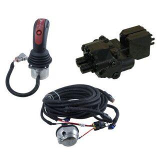 Etukuormaajaventtiili, ympäripumppaava, sähköohjaus WALVOIL SDM122/2