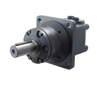MTW-Hydraulimoottori 40mm lieriöakselilla, napakiinnitteinen