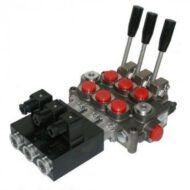 Galtech Q45 Käsi-/Sähköohjausventtiilit