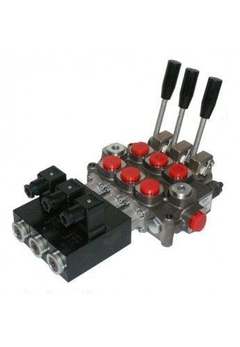 Proportionaal ohjatut käsi sähköohjattu venttiilipöytä Galtech q45 1