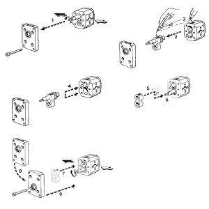 3 sarjan hammaspyöräpumput kierrelähdöillä 2