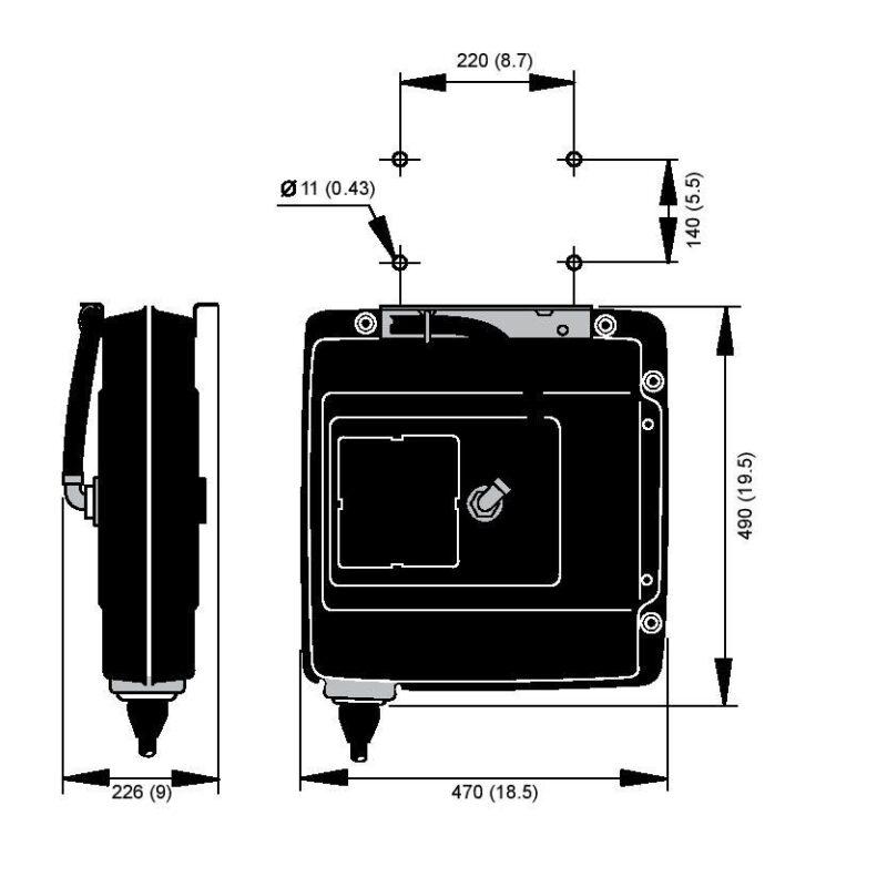 Nederman Letkukela 883 -sarja kaavakuva