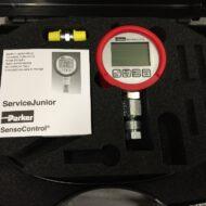 Parker SensoControl ServiceJunior Digitaalinen Paineenmittaussalkku.