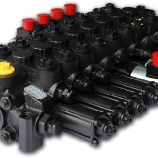Kuormainventtiili 8-karainen hydraulinen esiohjaus hydrocontrol
