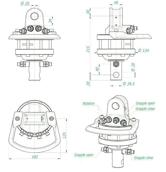 Rotaattori Hel-1 FHR 1.000L