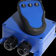 T60S-MD3 Kauko-ohjaus järjestelmä 3-toimintoa, 12-24VDC