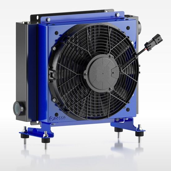Öljynjäähdytin Oesse HY03804 24VDC 160 L/min 60/48°C 20000Kcal/h max.24bar