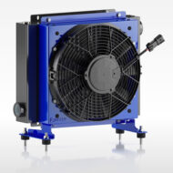 Öljynjäähdytin Oesse HY05704 24VDC 200 L/min 60/48°C 25000Kcal/h max.24bar