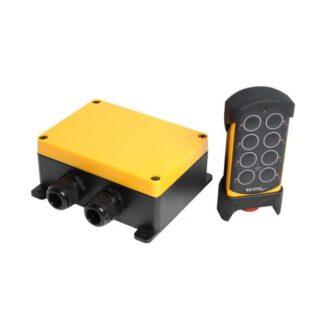 PNS-MXX8 Maxi-järjestelmä 8-toimintoa+hätäseis 12-24VDC 48-230VAC