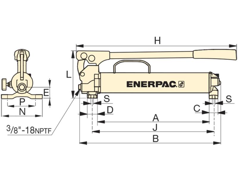 Enerpac P18 P39 P77