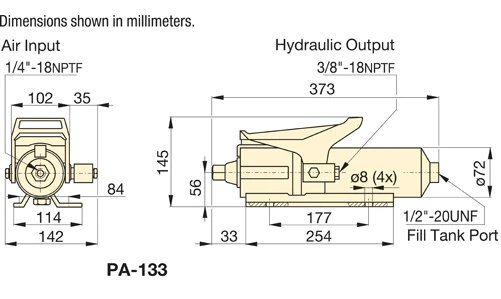 Enerpac PA133