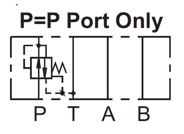 Cetop 3 Paineenalennusventtiili 80l/min 315bar, MPR-03P-3-50