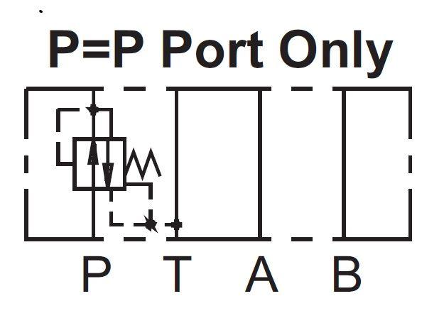 Cetop 3 Paineenalennusventtiili 40l/min 315bar, MPR-02P-3-50