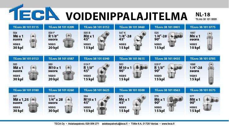 Voidenippalajitelma, NL-18