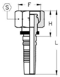 Interlock Letkuliitin M-sisäkierre & putkitartunta DKOS