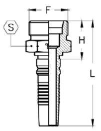 Interlock Letkuliitin M-ulkokierre CES
