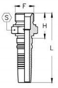 Interlock Letkuliitin BSB-ulkokierre kaavakuva