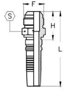Interlock letkuliitin-ulkokierre-kaavakuva