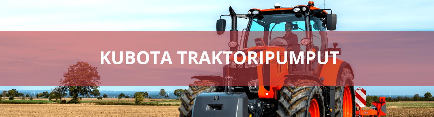 Kubota traktoripumput